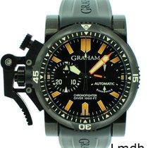 Graham Stahl 44mm Automatik LMDH-12577 gebraucht Schweiz, Geneve