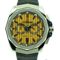 Corum Steel Automatic 45mm pre-owned Admiral's Cup AC-One