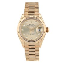 Rolex Lady-Datejust Or jaune 28mm Sans chiffres France, Paris