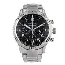 Breguet Type XX - XXI - XXII Acier 43mm Gris Arabes France, Paris