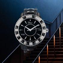 Dior VIII Steel 39mm Black Roman numerals