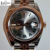 Rolex Datejust II Acero y oro 41mm Gris Sin cifras España, Madrid