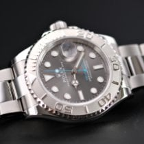 Rolex Yacht-Master 40 Steel 40mm Grey No numerals United Kingdom, Whitby- North Yorkshire