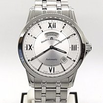 Maurice Lacroix Pontos Day Date Steel 39mm Silver United States of America, Illinois, BUFFALO GROVE