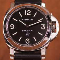 Panerai PAM 00000 Stahl 2015 Luminor Base Logo 44mm gebraucht