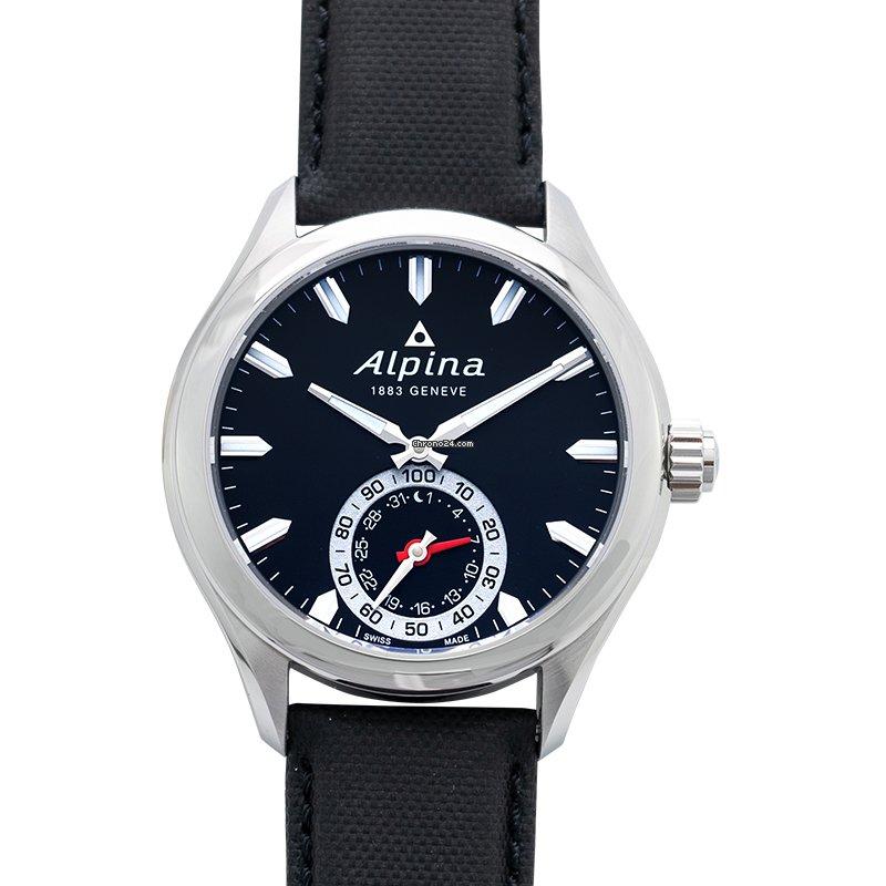 Alpina Horological Smartwatch AL-285BS5AQ6 2021 новые