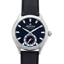 Alpina Horological Smartwatch Сталь 44mm Черный