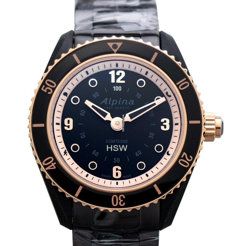 Alpina Horological Smartwatch AL-281BY3V4B 2021 новые
