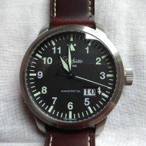 Glashütte Original Senator Navigator Panorama Date Steel 44mm Black Arabic numerals