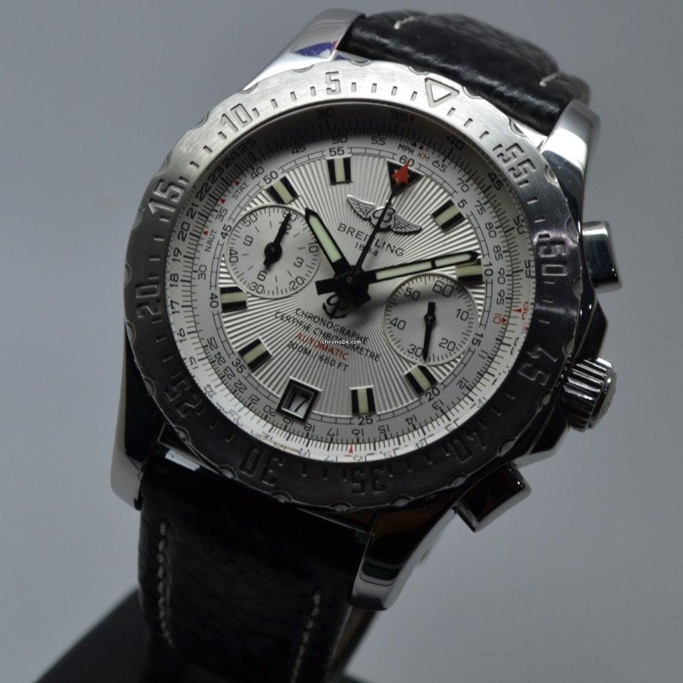 Breitling Skyracer 200M COSC Chronograph 43.50mm FULL SET EU MINT