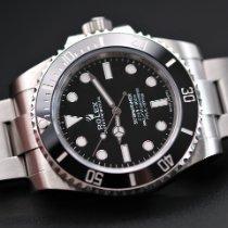 Rolex Submariner (No Date) Steel 40mm Black No numerals United Kingdom, Whitby- North Yorkshire