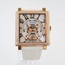 Milus Złoto różowe Automatyczny Masa perłowa Arabskie 42mm nowość Herios