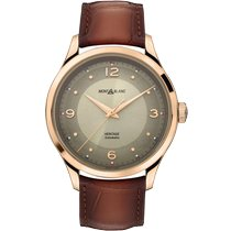 Montblanc new Automatic Display back Central seconds 40mm Rose gold Sapphire crystal