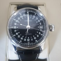 Longines Twenty-Four Hours pre-owned 47.5mm Leather