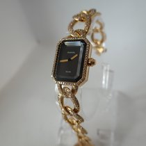 Chanel Première pre-owned 22mm Black Yellow gold