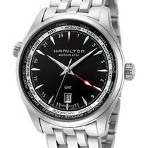 Hamilton Jazzmaster GMT Auto Steel 42mm Black
