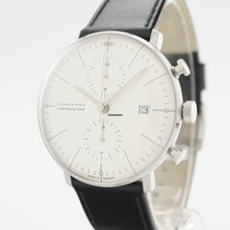 Junghans max bill Chronoscope 027/4600.04 New Steel 40mm Automatic