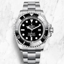 Rolex Sea-Dweller Deepsea Steel 44mm Black No numerals United Kingdom, Bath