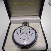 Junghans Uhr gebraucht 1958 Stahl 55mm Arabisch Handaufzug Uhr mit Original-Box