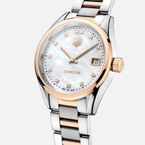 TAG Heuer Carrera Lady nuevo 2021 Cuarzo Reloj con estuche y documentos originales WAR1352.BD0779