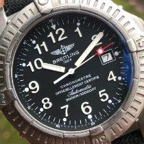 Breitling Avenger Seawolf Titanium 44mm Black Arabic numerals