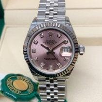 Rolex Lady-Datejust Сталь 28mm Розовый