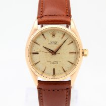 Rolex 6567 Yellow gold 1974 Oyster Perpetual 34mm pre-owned