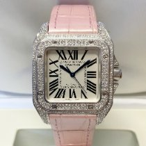 Cartier Santos 100 WM501751 Very good White gold 35mm Automatic United Kingdom, Wilmslow