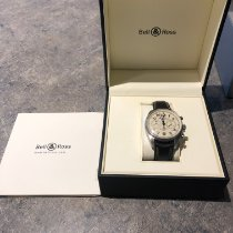 Bell & Ross Vintage occasion Argent Chronographe Cuir