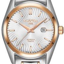 Roamer Searock nuevo Cuarzo Reloj con estuche y documentos originales 203844-49-05-20