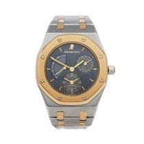 Audemars Piguet Royal Oak Dual Time Золото/Cталь 36mm Cерый