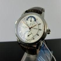 Frederique Constant Manufacture Classic Steel 42mm Silver No numerals