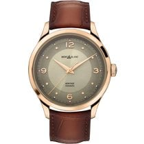 Montblanc new Automatic Display back Central seconds 40mm Red gold Sapphire crystal