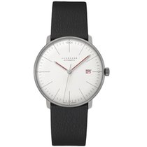 Junghans Silver Manual winding White 38mm new max bill Automatic