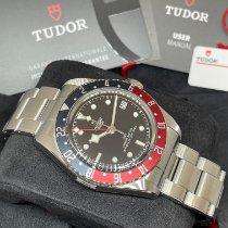 Tudor Black Bay GMT Steel 41mm Black No numerals United States of America, New York, NY
