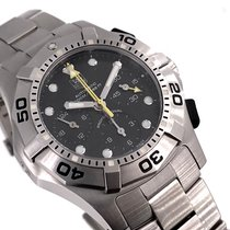 TAG Heuer Aquagraph Acero 42mm Negro Sin cifras