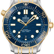 Omega 210.20.42.20.03.001 Or/Acier 2021 Seamaster Diver 300 M 42mm nouveau