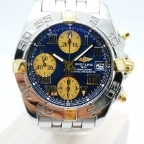 Breitling Chrono Galactic Steel White
