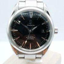 Omega Seamaster Aqua Terra Acier 39mm Noir Sans chiffres