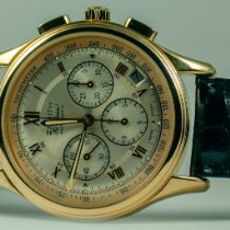 Zenith El Primero Chronograph Or jaune 40mm Argent Romains France, Saint Germain en Laye