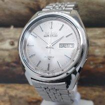 Seiko 5 Steel 37mm Grey