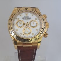 Rolex Daytona Yellow gold 40mm White Arabic numerals United States of America, New York, New York