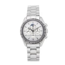 Omega Speedmaster Professional Moonwatch Moonphase Steel 38.8mm Silver No numerals