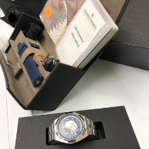 Vacheron Constantin Overseas World Time Steel 43.5mm Blue United States of America, Florida, Key Biscayne