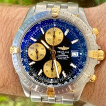 Breitling Crosswind Racing Gold/Steel 43mm Black Roman numerals United States of America, Texas, Plano