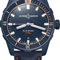 Ulysse Nardin 8163-175LE/93-BLUE SHARK Steel 2021 42mm new