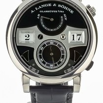 A. Lange & Söhne Zeitwerk White gold 44mm Black United States of America, Illinois, BUFFALO GROVE
