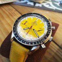 Omega Speedmaster Racing occasion Jaune Chronographe Cuir