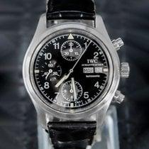 IWC Pilot Chronograph IW370607 Odlično Zeljezo 39mm Automatika