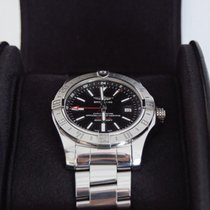 Breitling Avenger II GMT Steel 43mm Black